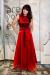 Kleid VAMIL red, Seidenstretch, online